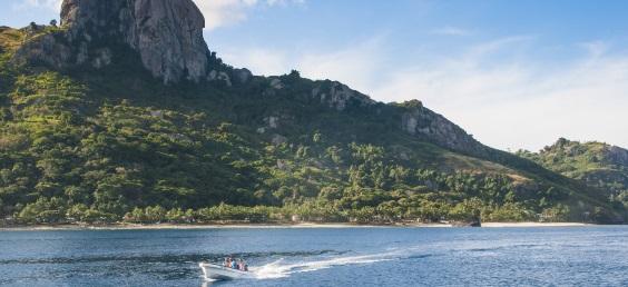 Fiji tour - boat cruise