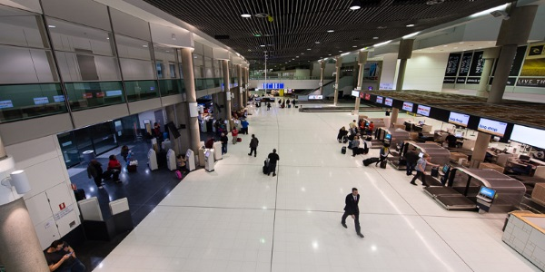 Brisbane Airport Terminal D - Check In