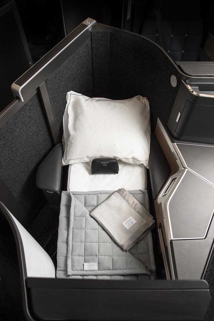 British Airways business class club suite