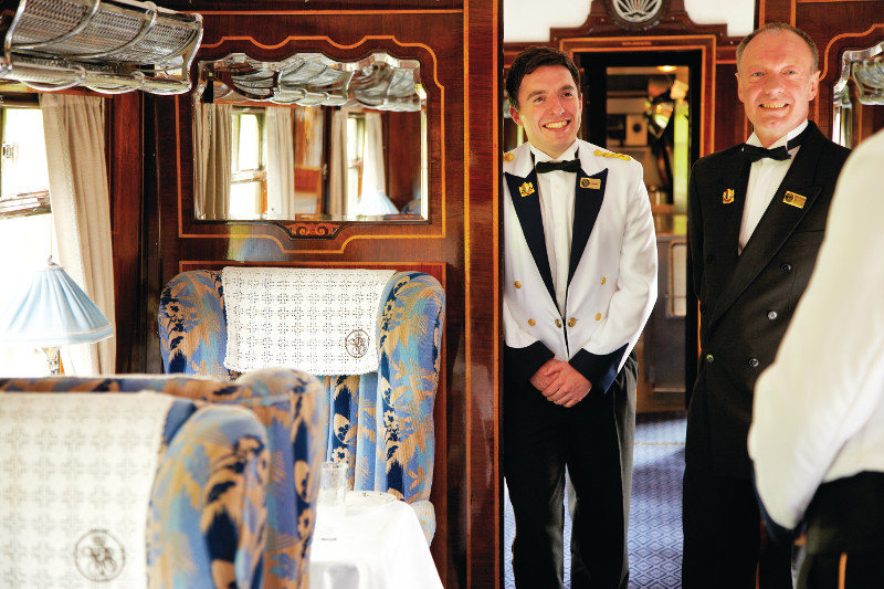 Belmond British Pullman luxe train UK