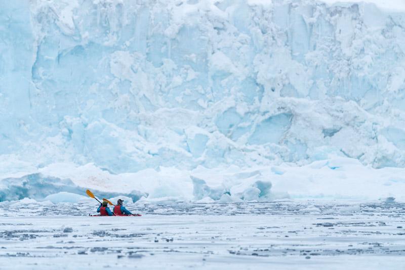 Brown Bluff, Antarctica. Image: Chelsea Claus for Hurtigruten