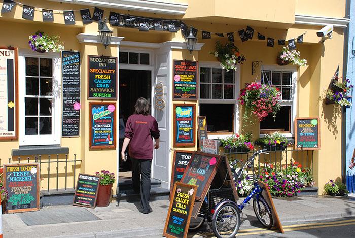 Buccaneer Inn Pub in Tenby