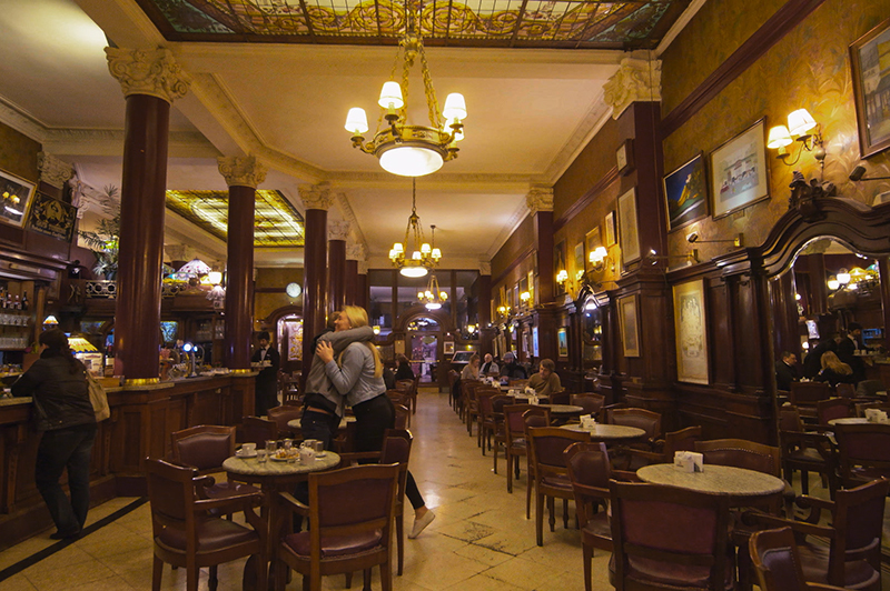 Buenos Aires Cafe Tortoni