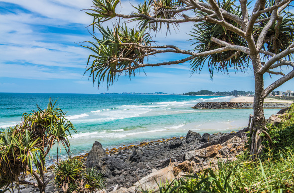 Burleigh Heads Beach, Gold Coast