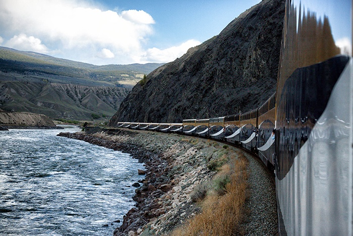 Rocky Mountaineer landscapes