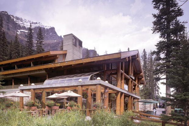 Moraine Lake Lodge.