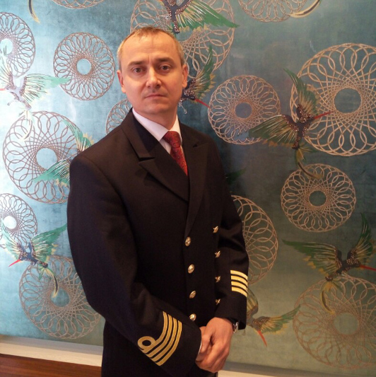 APT river cruise captain Janos Nyul.