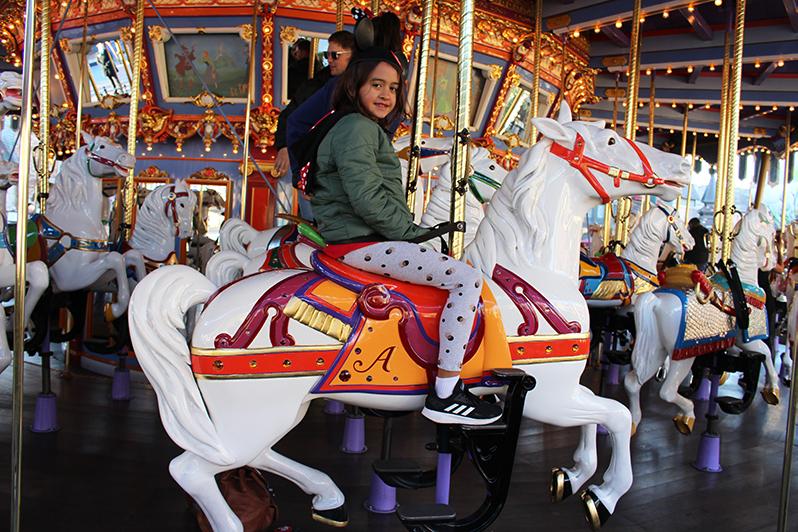 King Arthur Carrousel, Disneyland Park