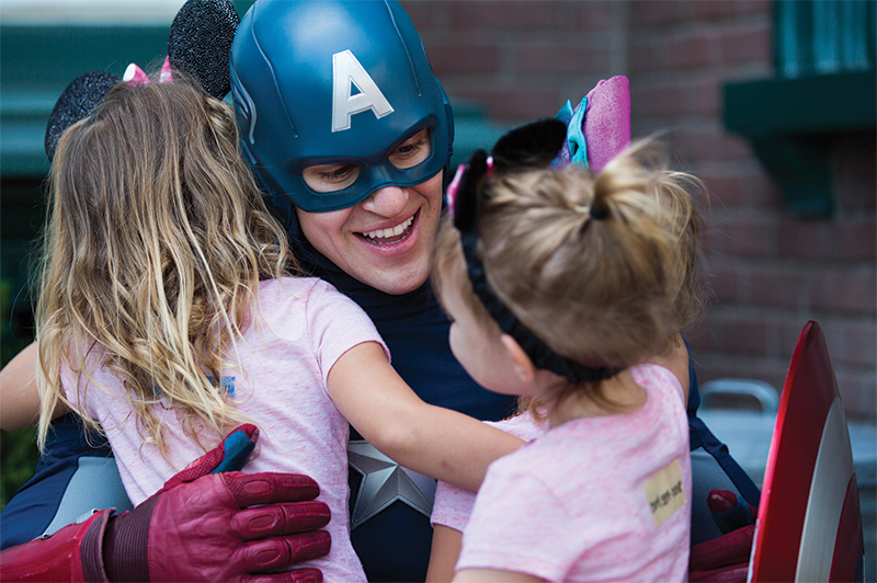 Meet your Marvel heroes at Walt Disney Studios.
