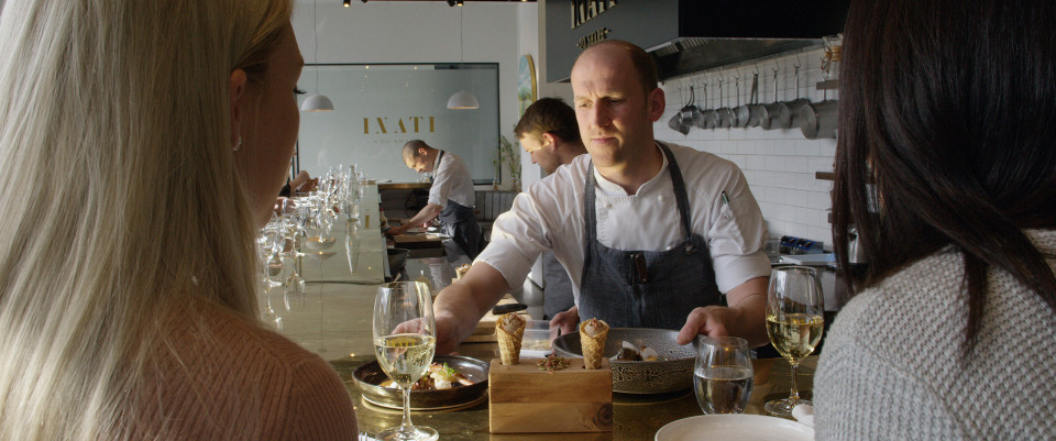 Inati is a fine dining institution in Christchurch run by Chef Simon Levy