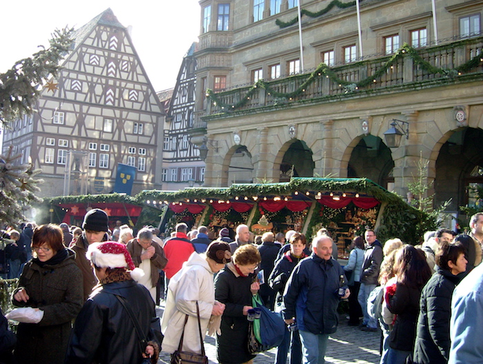 Christmas market trail - Rothenburg
