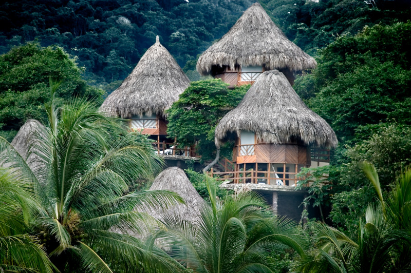 Ecohab villas in the forests of Colombia