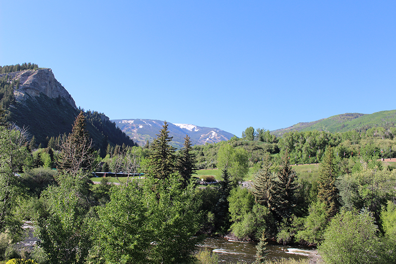 The view from The Westin Riverfront Resort & Spa, Beaver Creek