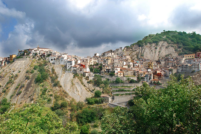 Corleone hilltop village Sicily