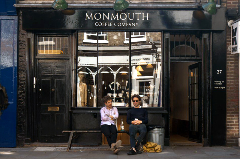 monmouth coffee roasters covent garden london