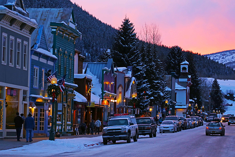 Crested Butte town, Colorado