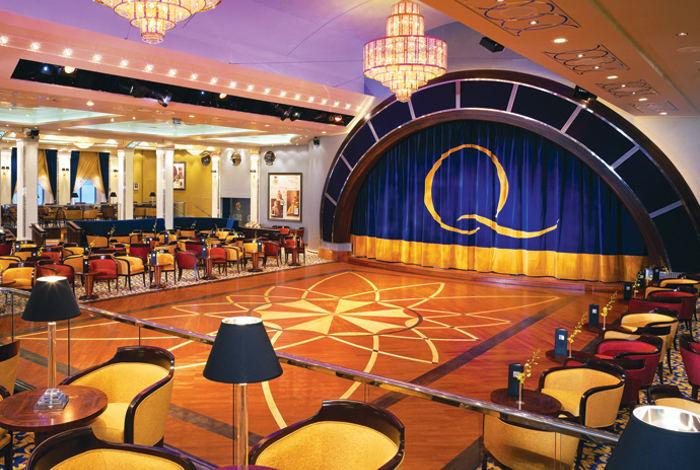 Queen Mary 2 ship ballroom cunard