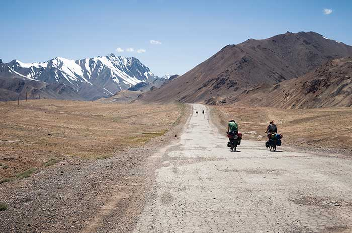 Cycling the Silk Road