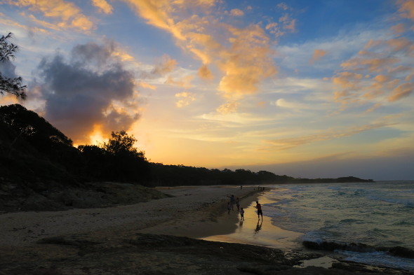 Cylinder Beach Sunset