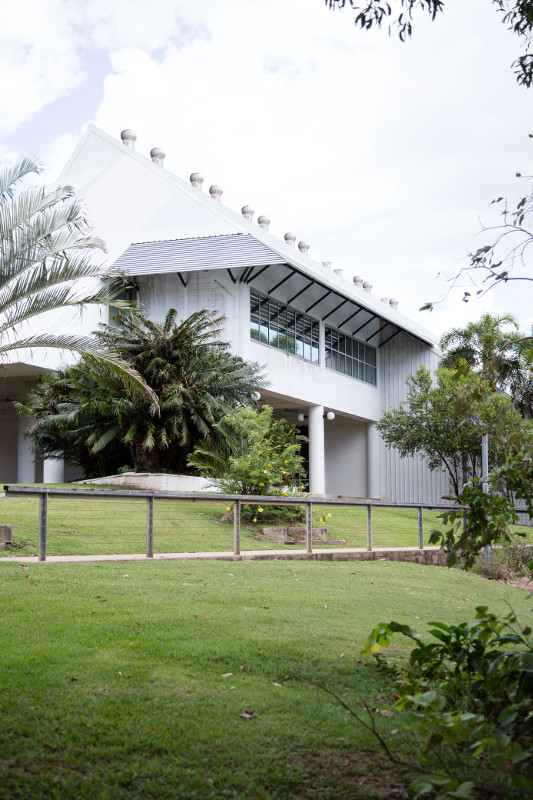 Museum and Art Gallery of Northern Territory facade