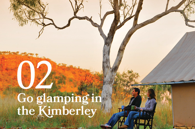 glamping in the kimberleys