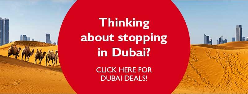 Dubai stopover banner
