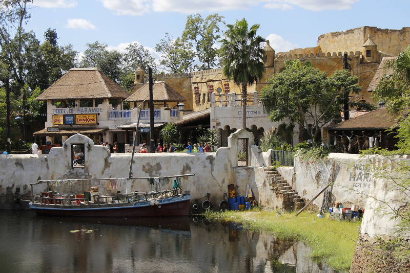 Asia-themed area of Disney's Animal Kingdom