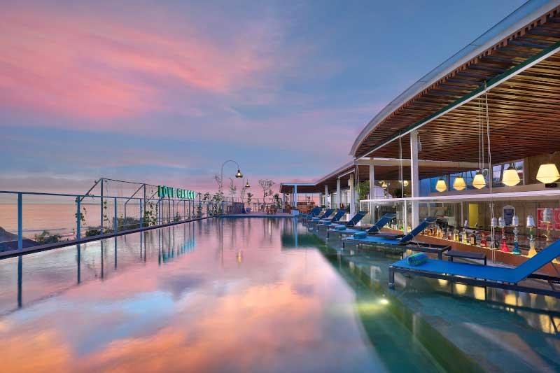 Aston canngu beach resort pool bali