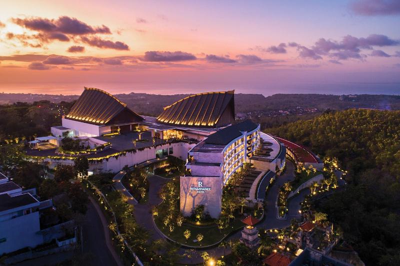 Aerial view of the Renaissance Bali Uluwatu Resort & Spa
