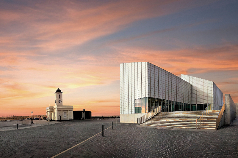 Turner Contemporary on the Margate seafront.