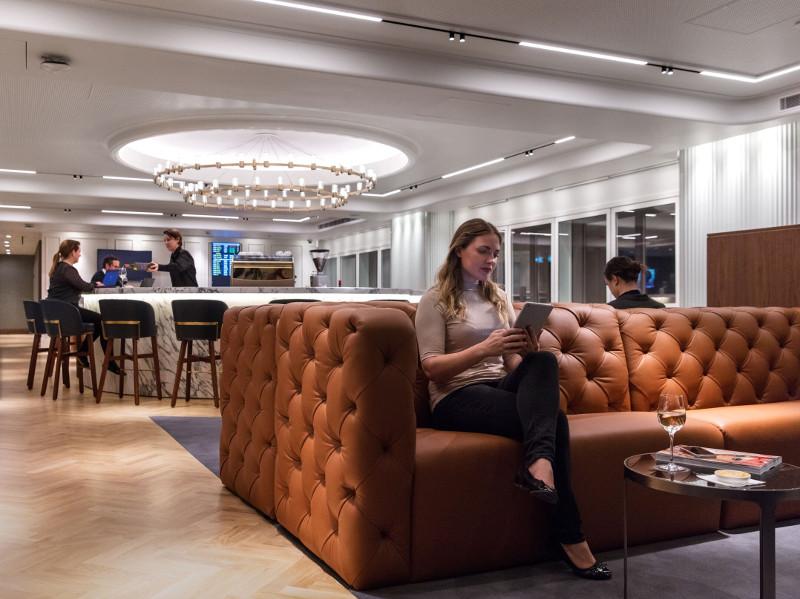 Qantas lounge Heathrow Airport