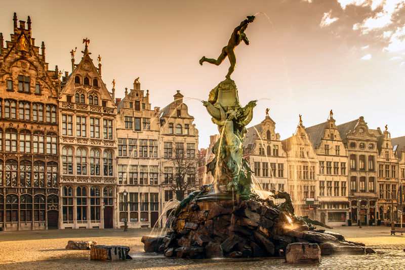 Brabo Fountain, Antwerp