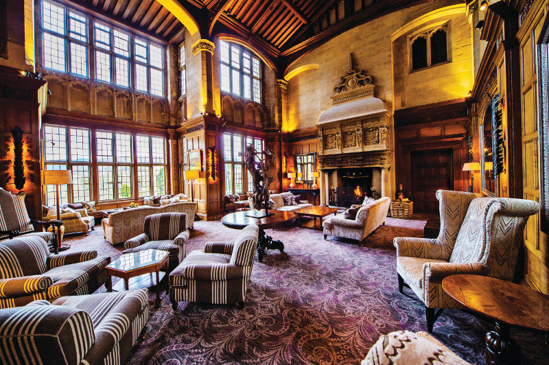 Bovey Castle in England