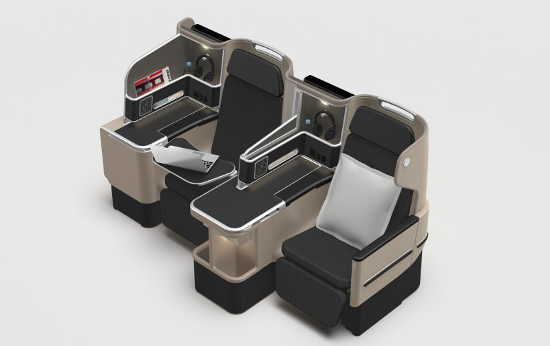 Business Class seats will all enjoy direct aisle access on the Qantas Dreamliner