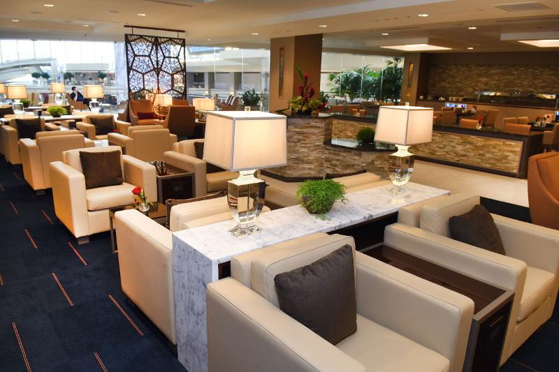Emirates Lounge at LAX