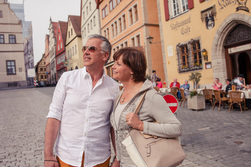 mature couple in Rothenburg