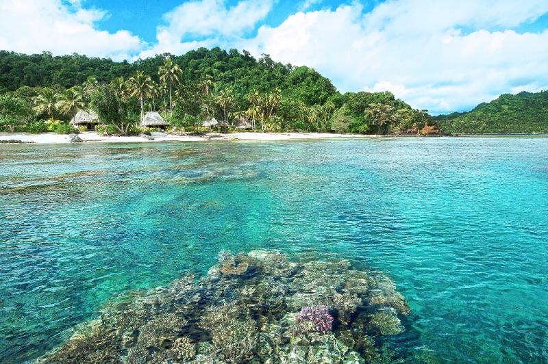 Qamea Resort in Fiji.