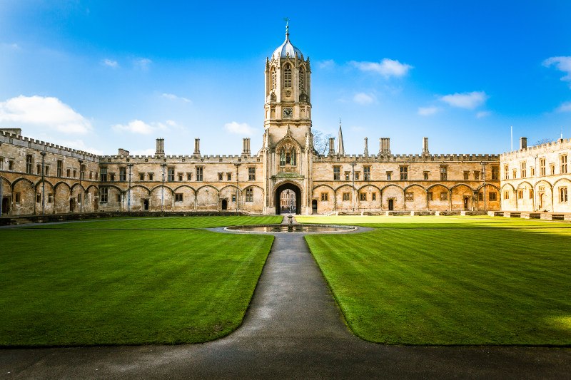 Tom's Tower, Christ Church, Oxford University