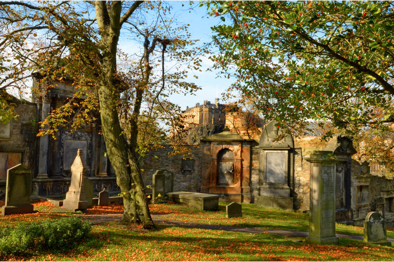 Greyfriars Kirkyard, Scotland