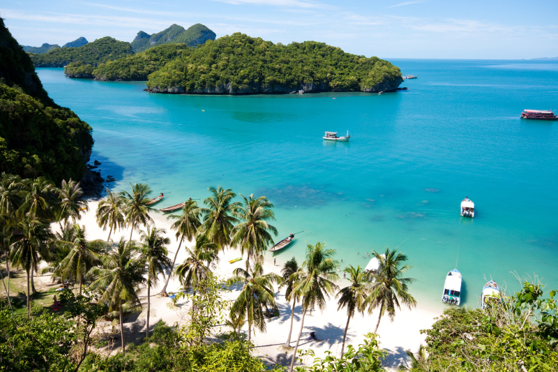 Koh Samui beach holiday