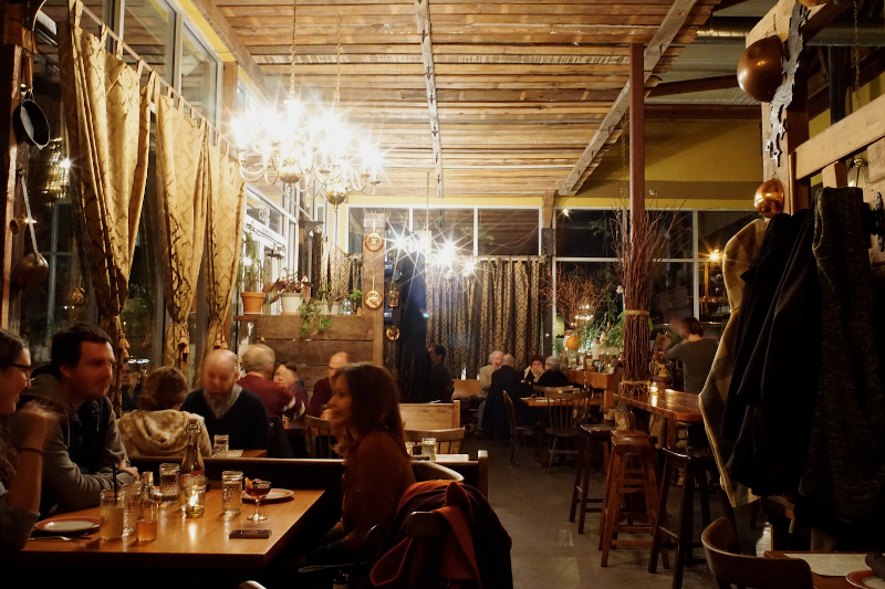 Ned Ludd restaurant in Portland, USA.