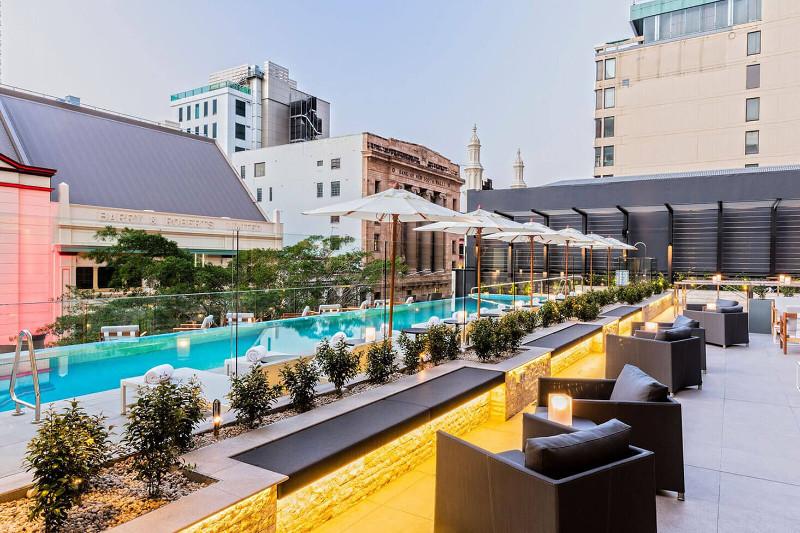 Hotel Next Brisbane terrace bar