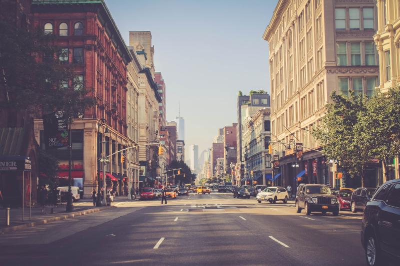 New York City streets.