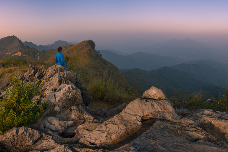 Chiang Rai's Pha Tang mountain.