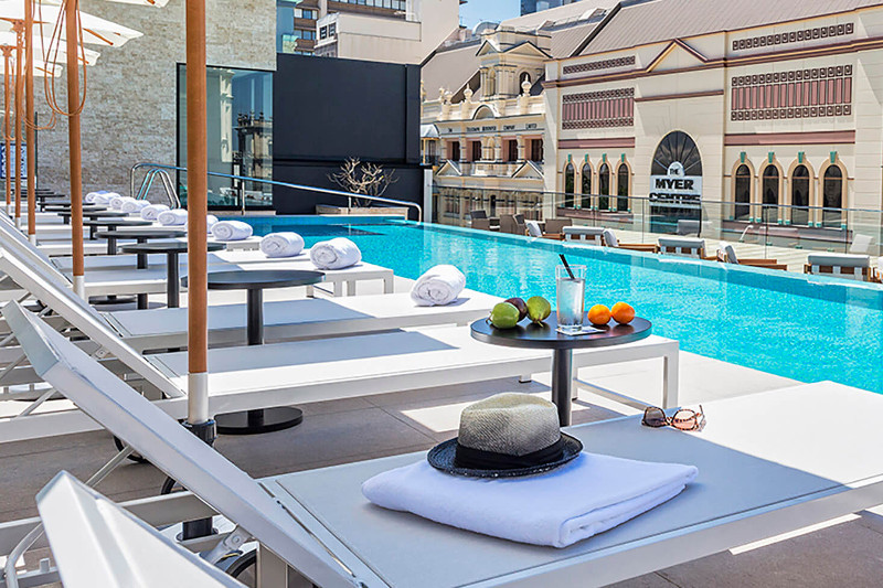 Next Hotel Brisbane pool