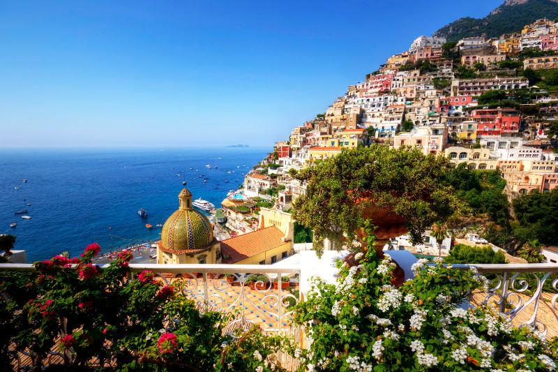 Beautiful Positano.