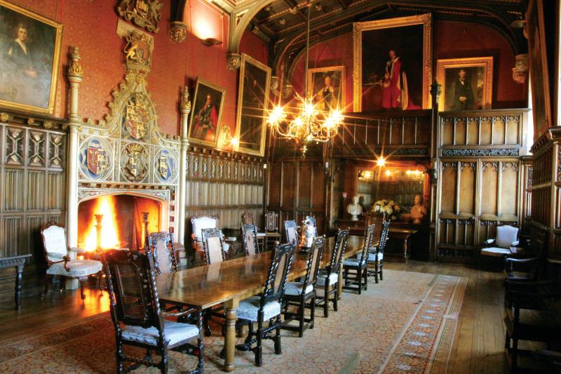 Powderham Castle in England