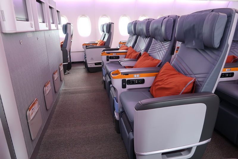 Premium Economy Vs Business Class On Singapore Airlines\' New A380