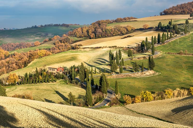 Monticchiello, Tuscany.