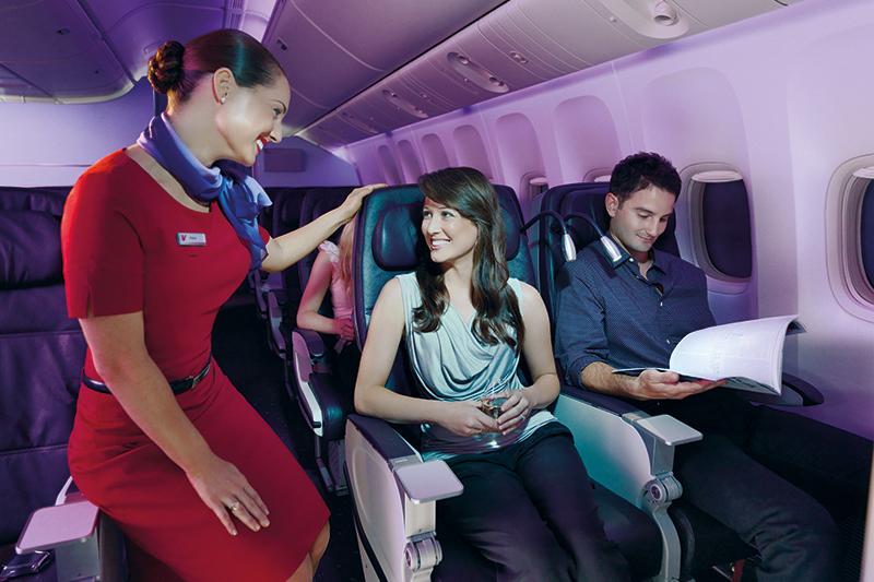 Virgin Australia premium economy